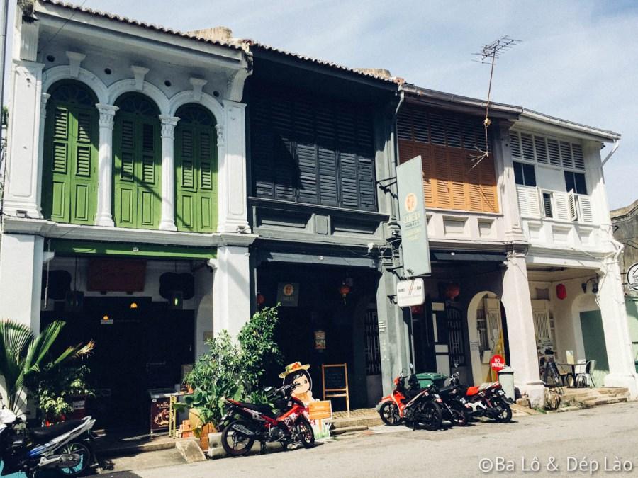 Penang - thành phố cổ kính với nhiều ngôi nhà cổ san sát nhau