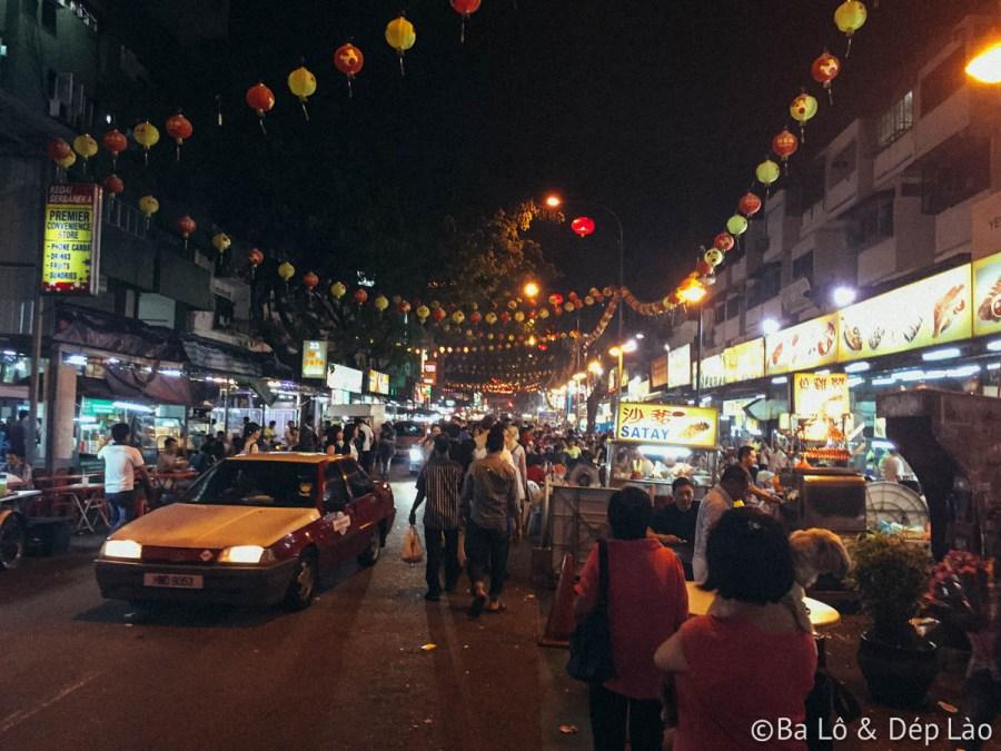 Jalan Alor - khu ăn uống đường phố tấp nập nhất Bukit Bingtang