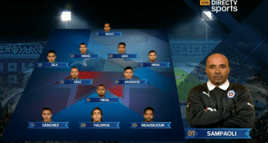 Chile vs Ecuador 11CHILE