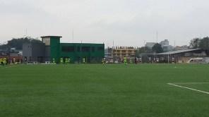 Panorámica del estadio Obando y Pacheco, de Sto. Domingo.