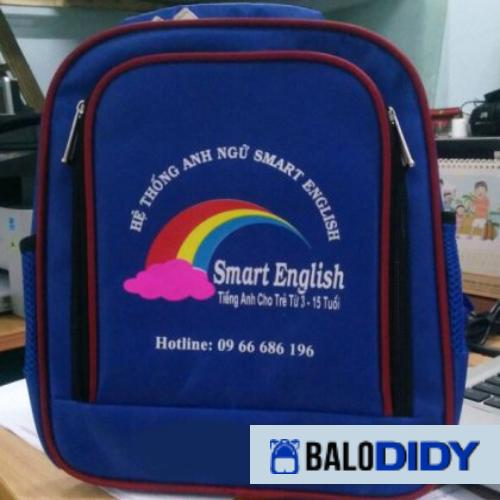 Balo Smart English: mẫu balo trung tâm anh ngữ - Balo DiDy
