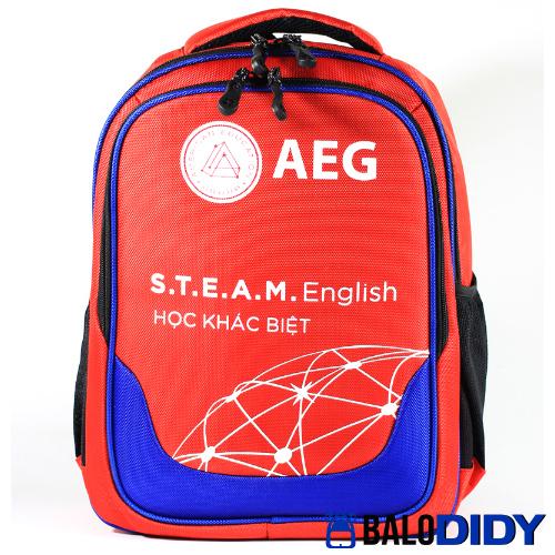 Balo AEG: mẫu balo trung tâm anh ngữ - Xưởng may balo túi xách ở TPHCM - Balo DiDy