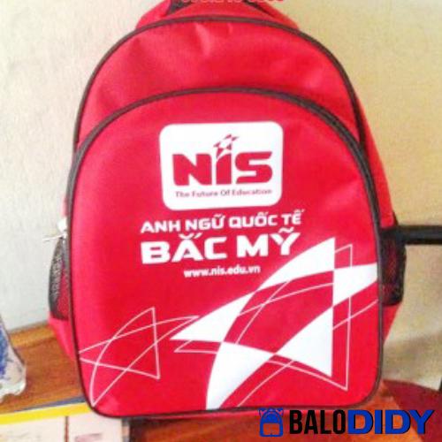 Balo NIS: mẫu balo trường anh ngữ quốc tế bắc mỹ - Balo DiDy