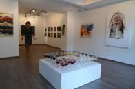 Galeristė Jolanta Gutauskienė. / Gallery owner Jolanta Gutauskiene. 2014.