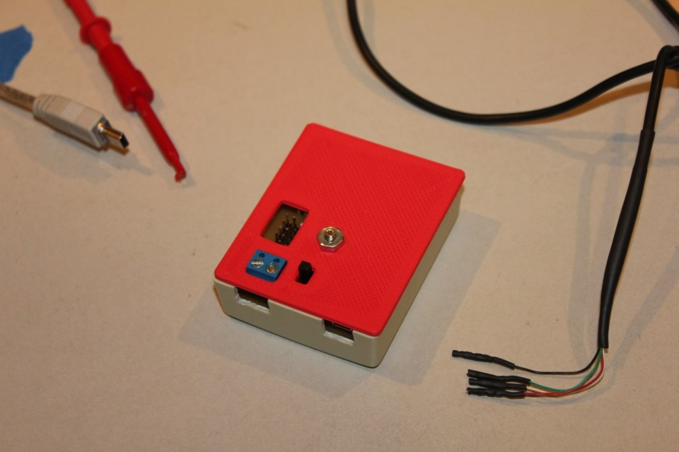 Final USB dongle enclosure