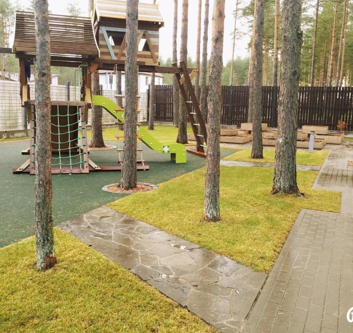 Беседка Балтийская флора