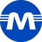Logo of Vilnius metro