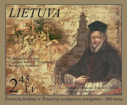 Lithuanian postage stamp 2013_