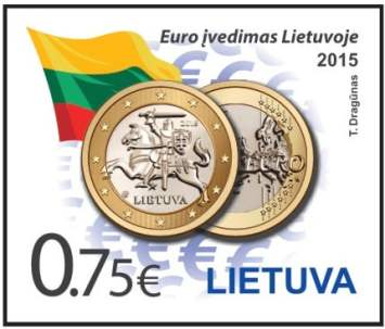 Lithuanian postage stamp 20156