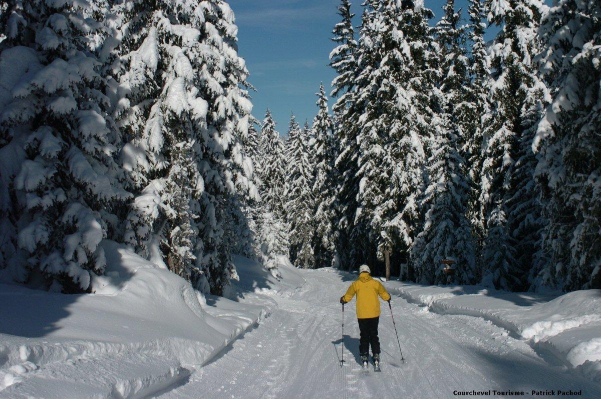 Courchevel skii resort