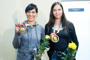 Donata Vištartaitė and Milda Valčiukaitė
