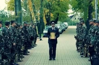 Lithuanian Dog Ramzis Burial