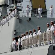 Chinese warships started exercises in the Baltic Sea