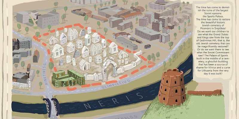 Vilnius: Non Jews will save Jewish cemeteries