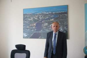 Janis Vitolins, the chairman of Ventspils infrastructure affairs.