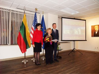 Ann Charles Honorary Event at Lithuanian Consulatein New York