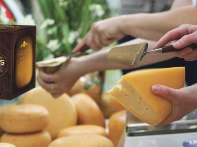 "Lithuanian handmade semi-hard cheese ""Liliputas"""