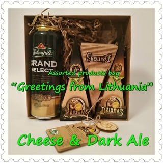Greetings from Lithuania | Cheese & Dark Ale
