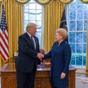 Trump and Grybauskaite