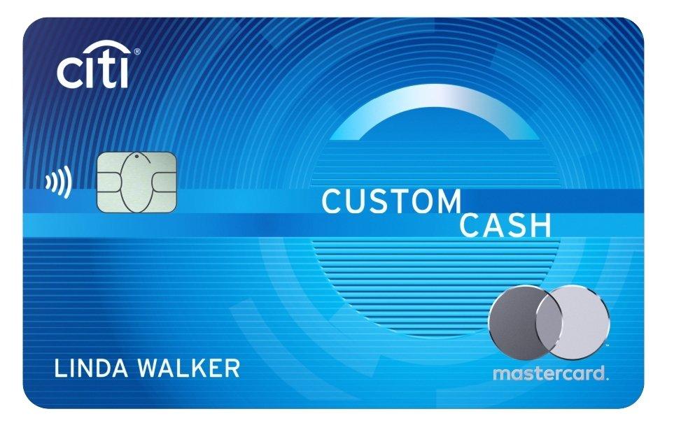 Citi custom card