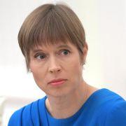 Estonian President Kersti Kaljulajd