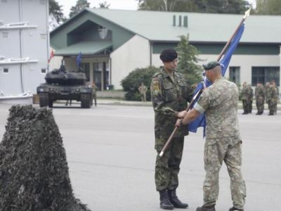 The detachments of soldiers from Germany, Lithuania, France, the Netherlands, Norway, the Czech Republic, Belgium, Iceland and Luxembourg have taken up command in Rukla.