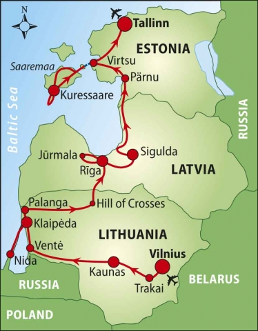 Baltic Bike Tour