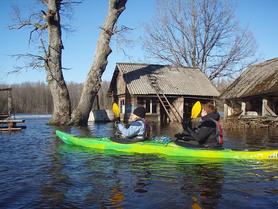 Kayak around the Soomaa and Baltic Islands in Estonia