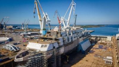 Construction of the MyStar | Picture Sammeli Korhonen, RMC