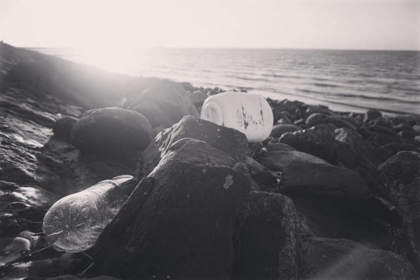 Angeschwemmter Müll