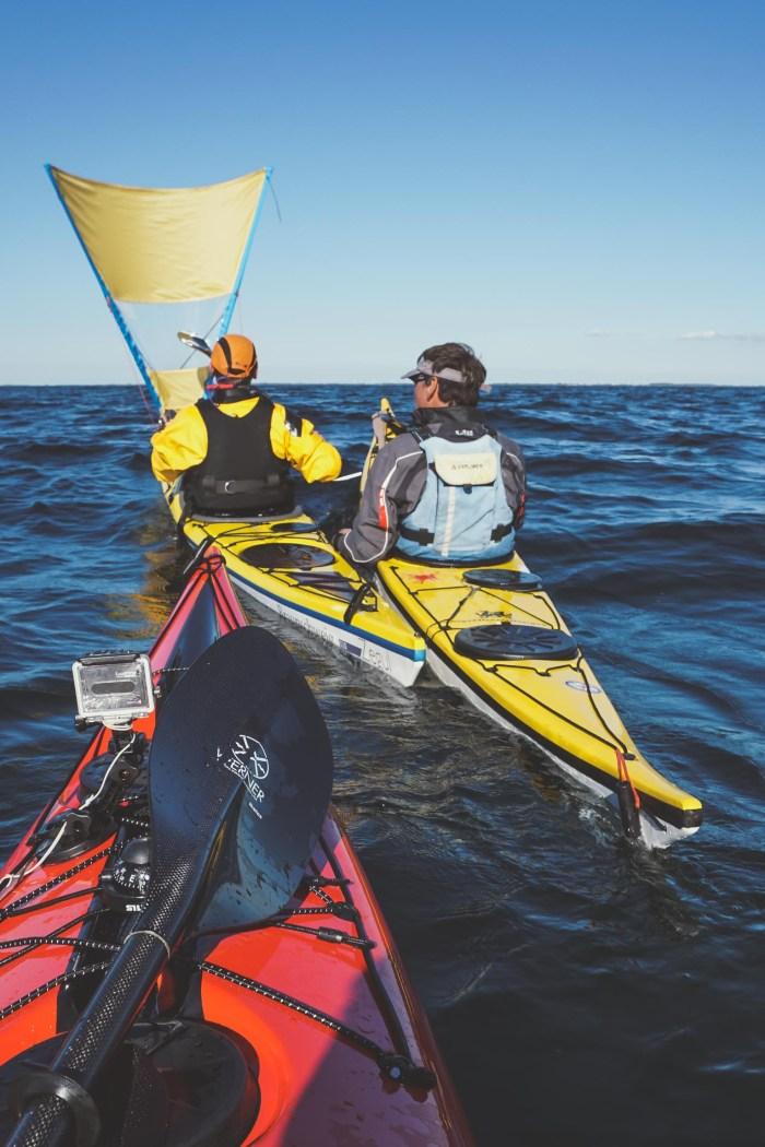 Kajak Sailing