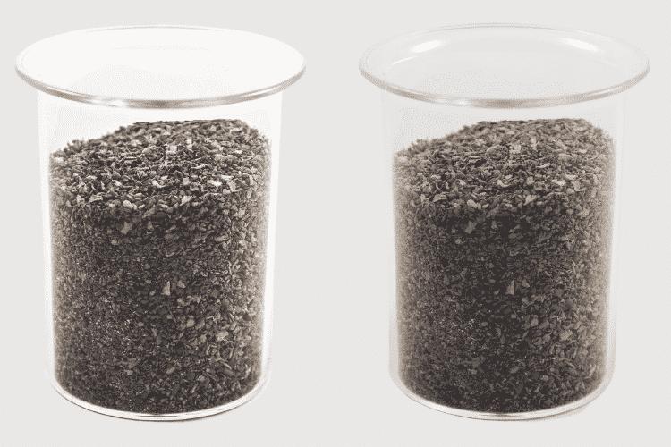 Plastiko granulės