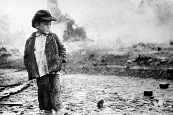Воспоминания очевидца: у той войны совсем не детское лицо...