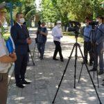 Аллею Героев Советского Союза открыли в киргизском Джалал-Абаде