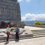 Память погибших в Великой Отечественной войне почтили в Пловдиве