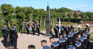 Парад Победы на острове Борнхольм
