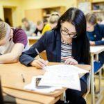 Выпускные экзамены в Литве начинаются с английского языка