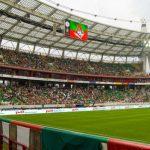 На стадионе «Локомотива» стюард набросился на журналиста и рассек ему губу