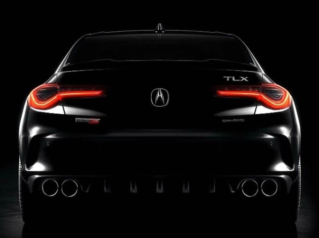Acura анонсировала «заряженную» версию седана TLX второго поколения