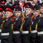 Более шести тысяч школьников поступили в кадетские классы в этом учебном году