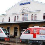 В Литве быстро восстанавливаются пассажирские потоки в поездах
