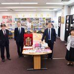 Русскому центру в Токио подарили новые книги