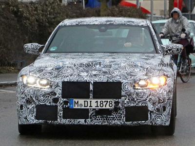 Новый BMW M3 получит полный привод и кое-что еще