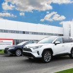 Петербургский завод Toyota начал экспорт автомобилей в Армению
