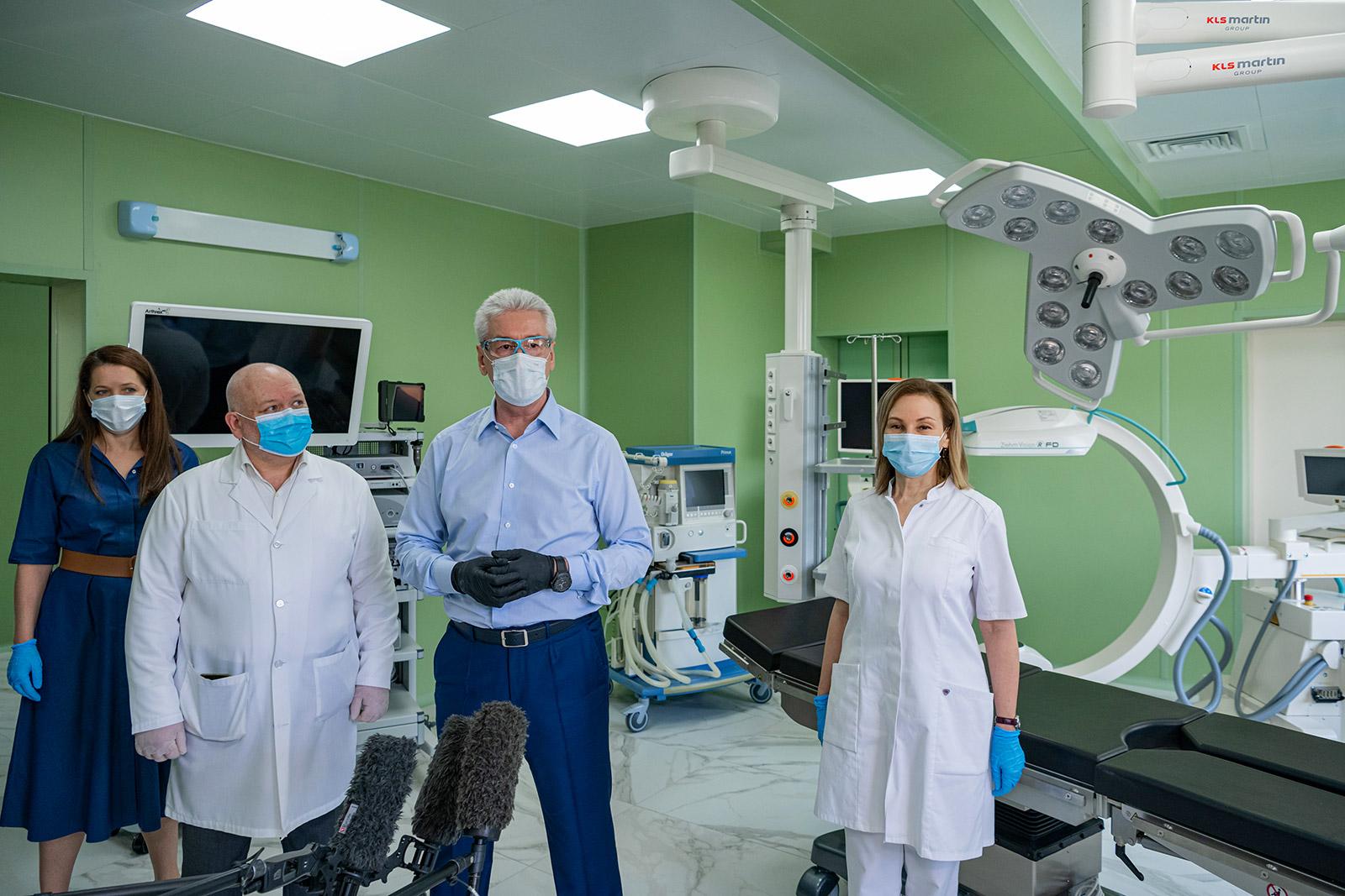 В больнице имени Юдина откроется центр специализированной хирургической помощи