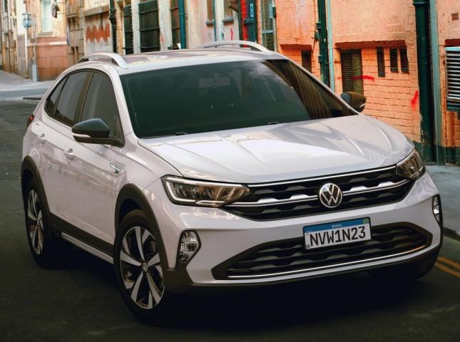 Volkswagen представил новый купе-кроссовер Nivus