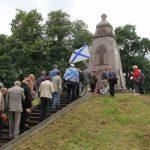 О подвиге русских солдат вспоминают на латвийском острове Луцавсала