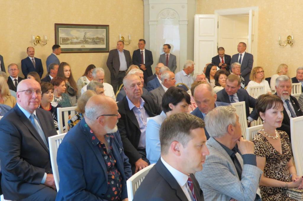 В Посольстве России в Эстонии прошла встреча, приуроченная к 40-летию олимпийской регаты в Таллине