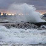 Короткий, но мощный: в субботу на Эстонию обрушится шторм