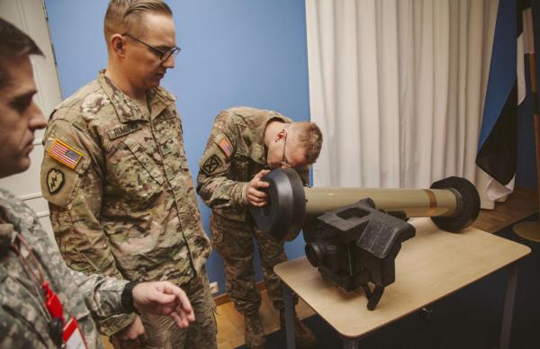 Силы обороны Эстонии получили от США 92 ракеты Javelin